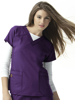 Picture of WonderWink Four-Stretch Women's Sporty V-Neck Top