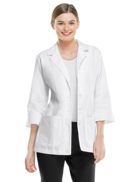 Picture of Cherokee Professional Whites Women's 3/4 Sleeve Lab Coat