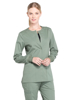 Picture of Cherokee Workwear Professionals Women's Snap Front Warm-Up Jacket