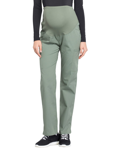 ef0204649d0e3 Picture of Cherokee Workwear Professionals Women's Maternity Pull-On Pant