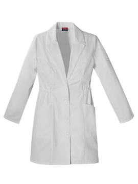 Picture of Dickies Women's Notched Collar Lab Coat