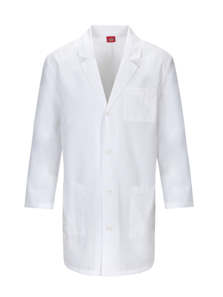Picture of Dickies Unisex Notched Collar Lab Coat