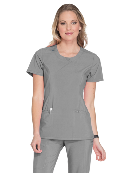 817df2ef606 Scrub Authority - Cherokee Infinity Women's Round Neck Top