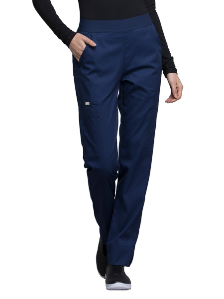 d828ee5afa7 Scrub Authority - Cherokee Luxe Natural Rise Pull-on Pant