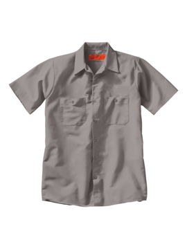 Picture of Red Kap Industrial Solid Short Sleeve Work Shirt