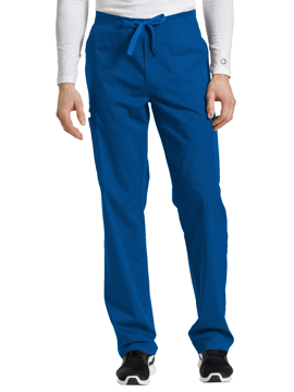 Picture of White Cross Drawstring Pant