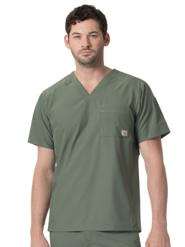 Picture of Carhartt Liberty Slim Fit V-Neck Back Vent Top