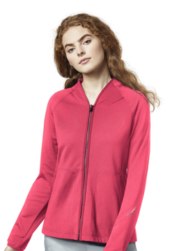 Picture of WonderWink Layers Women's Fleece Full Zip Jacket