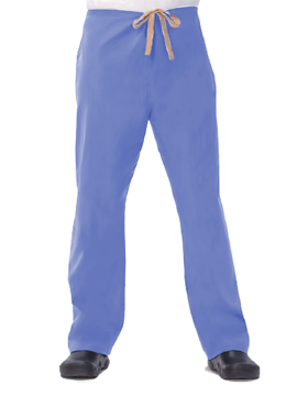 Picture of Fashion Seal Unisex 100% Cotton Drawcord Scrub Pants - Ceil Blue