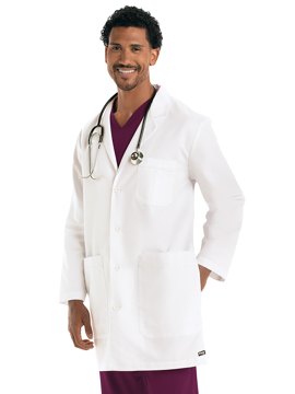 "Picture of Barco Grey's Anatomy™ Classic Men's 37"" Lab Coat"