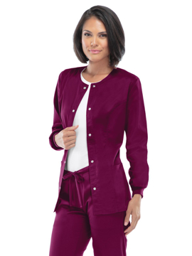 Picture of Cherokee LUXE Classic Women's Warm-Up Jacket