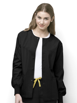 Picture of WonderWink Origins Unisex Delta Warm-Up Jacket