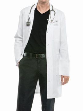 Picture of Cherokee Workwear Core Stretch Unisex Premium Lab Coat