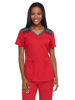 Picture of Dickies Dynamix Women's Mélange V-Neck Top