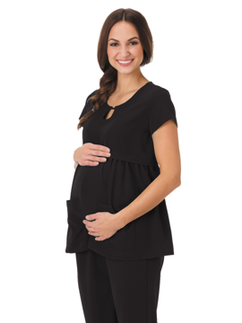 Picture of Jockey Classic Fit Empire Waist Maternity Top