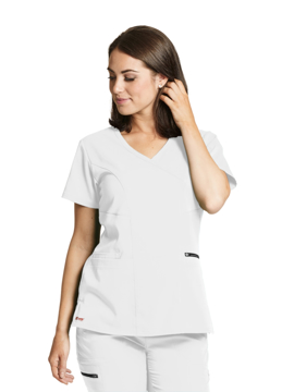 Picture of Barco Grey's Anatomy™ Stretch Kim Mock Wrap Top