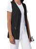 Picture of Cherokee Fashion Solids Women's Button Front Vest