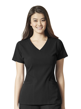 Picture of WonderWink Aero Women's Flat Back V-Neck Top