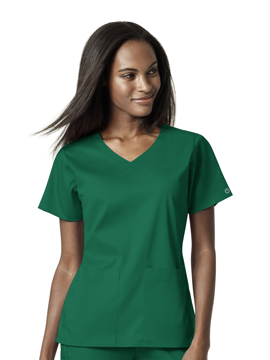Picture of WonderWink PRO Women's 4 Pocket Wrap Top