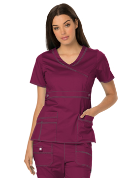 Picture of Dickies Gen Flex Women's Youtility Mock Wrap Top