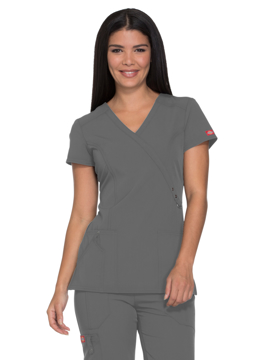 Picture of Dickies Xtreme Stretch Women's Mock Wrap Top