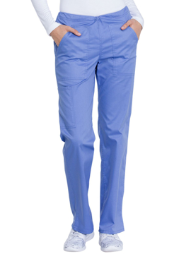 Picture of Dickies Genuine Industrial Strength Women's Mid Rise Straight Leg Drawstring Pant