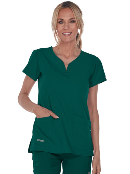 Picture of Barco Grey's Anatomy™ Signature Women's Notch Neck Top