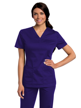 Picture of Women's All Day Y-Neck Scrub Tunic