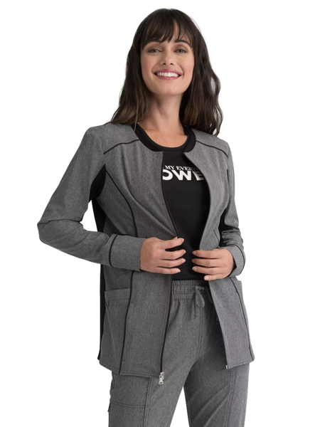 Picture of Elle Simply Polished Women's Zip Front Jacket