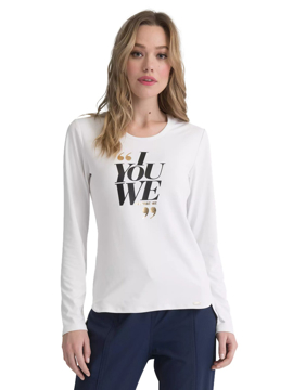 Picture of Elle Simply Polished Women's Underscrub Knit Tee