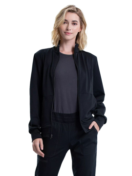 Picture of Cherokee Workwear Revolution Women's Zip Front Knit Jacket