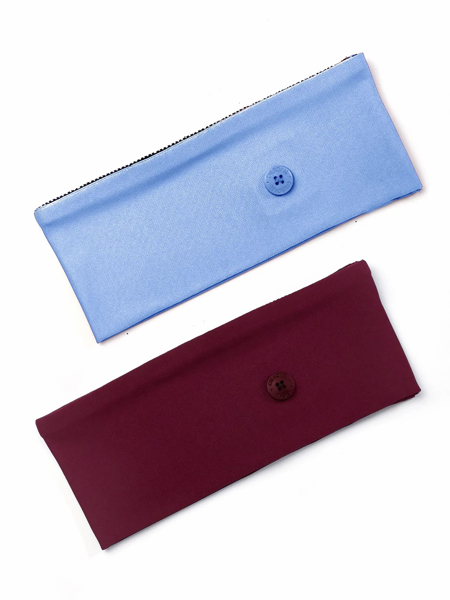 Picture of Cherokee Basic Headband with Buttons - Pack of 2