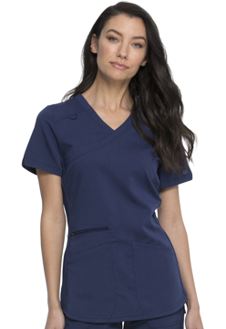 Picture of Dickies Balance Women's Mock Wrap Top