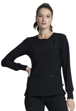 Picture of Cherokee Infinity Women's Long Sleeve V-Neck Top