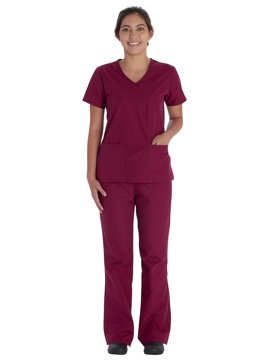 Picture of Vital Threads Women's Modern Classic Fit V-Neck Top and Drawstring Pant Set