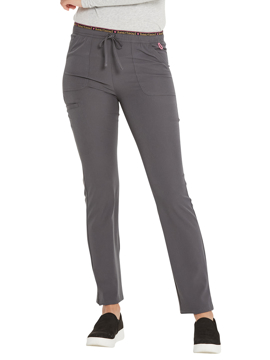 Picture of HeartSoul Break on Through Women's Mid Rise Tapered Leg Drawstring Pant