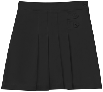 Picture of Classroom Uniforms Girls Plus Stretch Pleated Tab Scooter