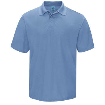 Picture of Red Kap Spun Polyester Polo With Gripper-Front