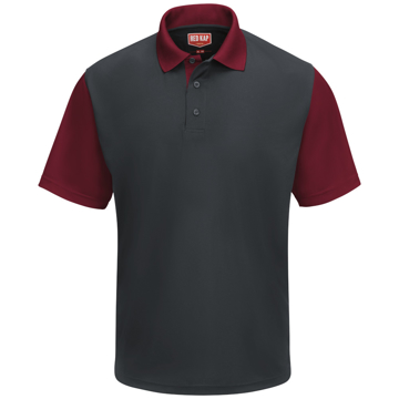 Picture of Red Kap Performance Knit Color-Block Polo
